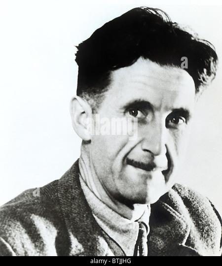 GEORGE ORWELL, circa 1949 - Stock Image