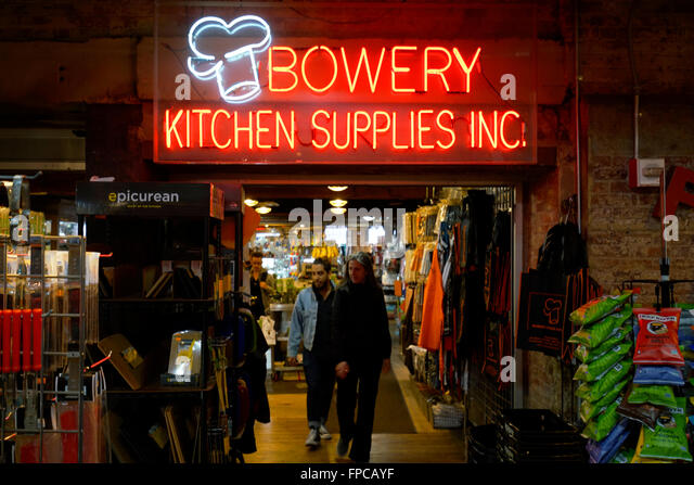 Bowery Kitchen Chelsea Market Menu