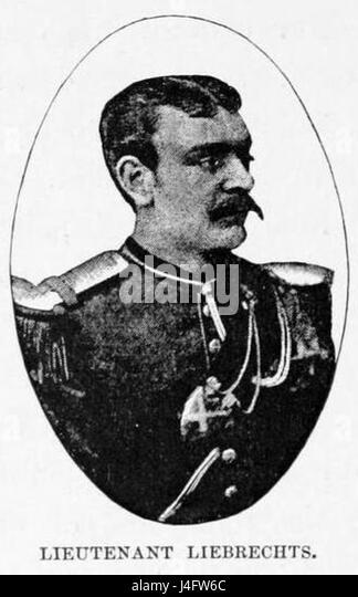 Stanley Founding of Congo Free State 278 Lieutenant Liebrechts - Stock-Bilder