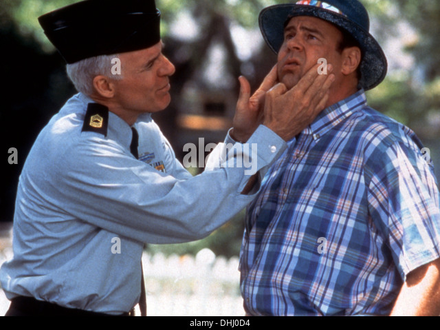 SGT BILKO (1996) STEVE MARTIN, DAN AYKROYD, JONATHAN LYNN (DIR) 005 MOVIESTORE COLLECTION LTD - Stock Image