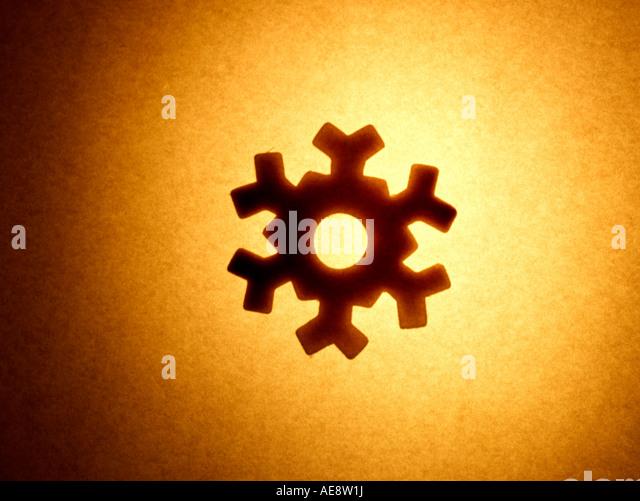Snow flake - Stock Image