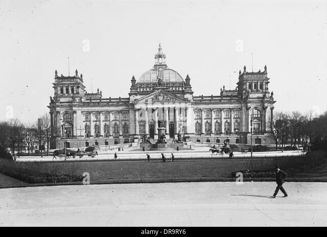 Reichstag, Berlin - Stock Image