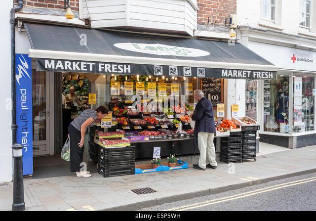 Stafford Food Shops Selling
