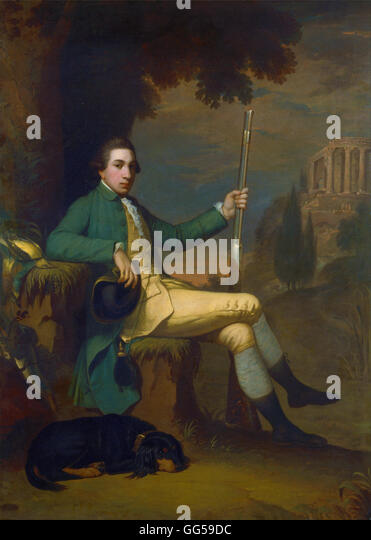 David Allan - Thomas Graham, Baron Lynedoch - Stock Image