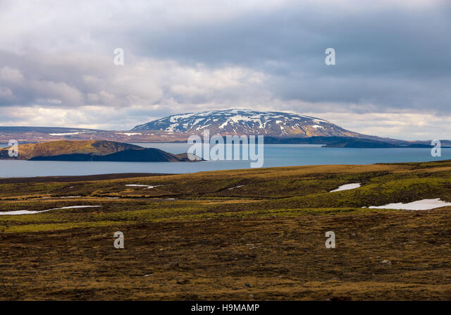 Thingvellir National Park - Stock Image