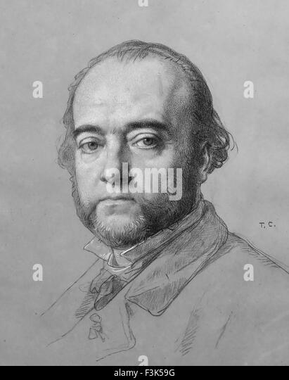FERDINAND BARBEDIENNE (1810-1892) French metalurgist - Stock Image