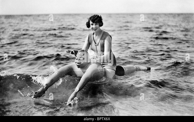 LUCY DORAINE ACTRESS (1926) - Stock Image