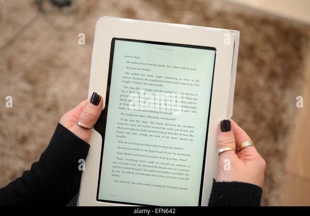 how to read a book kindle