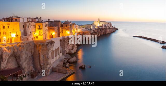 Vieste, Promontorio del Gargano, Puglia, Italy - Stock Image