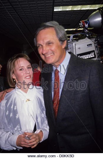 MARY STUART MASTERSON with Alan Alda 1990.a5804.(Credit Image: © Adam Scull/Globe Photos/ZUMAPRESS.com) - Stock Image
