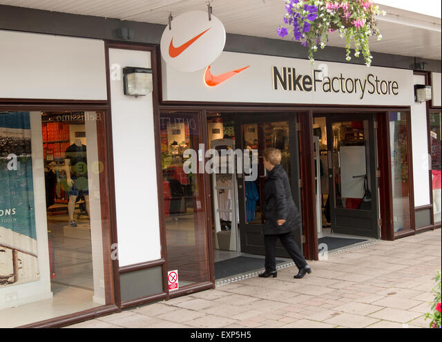 Nike Factory Store, Festival Park shopping centre, Ebbw Vale, Blaenau  Gwent, South