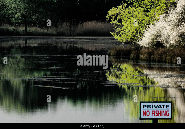 Private pond stock photos private pond stock images alamy for Private fishing ponds near me