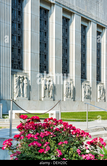The Folger Shakespeare Library, Capitol Hill, Washington, D.C., USA - Stock Image