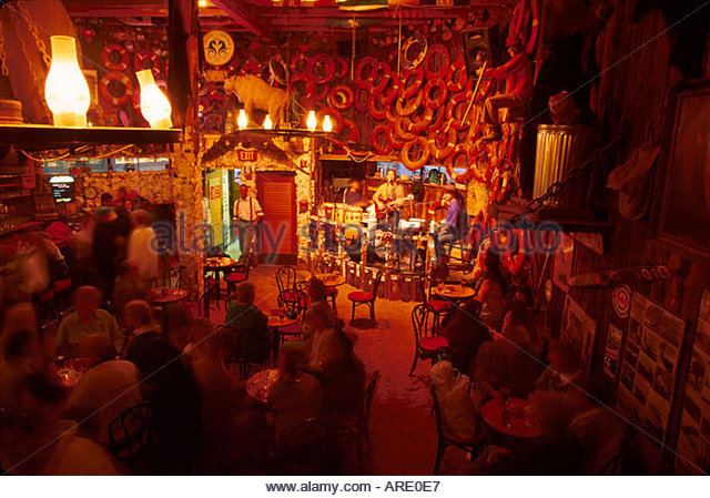 Alaska Juneau South Franklin Street Red Dog Saloon live music tourist attraction - Stock Image