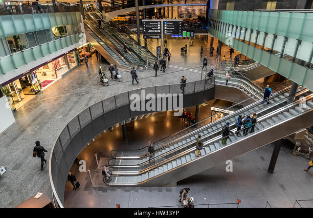 Zurich International Airport in Switzerland - Stock Image