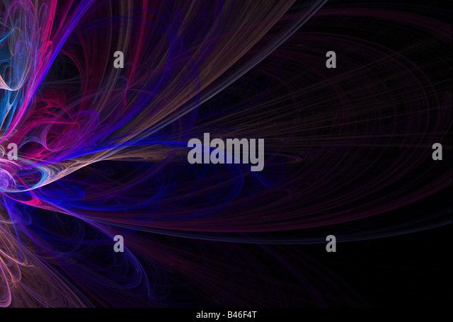 A 3D abstract layout you can use as a template for any design piece - Stock Image
