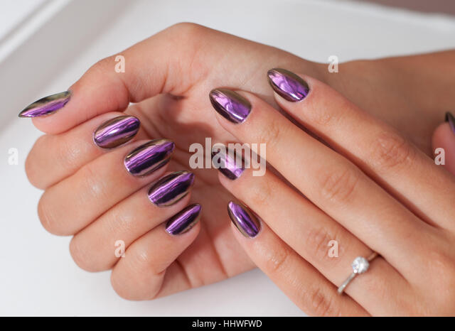 Nail salon stock photos nail salon stock images alamy for A new look nail salon