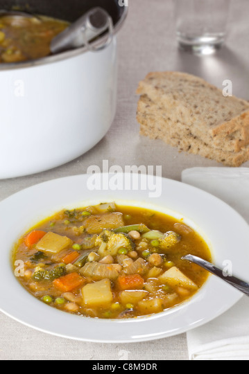 Vegetable Stew - Stock Image