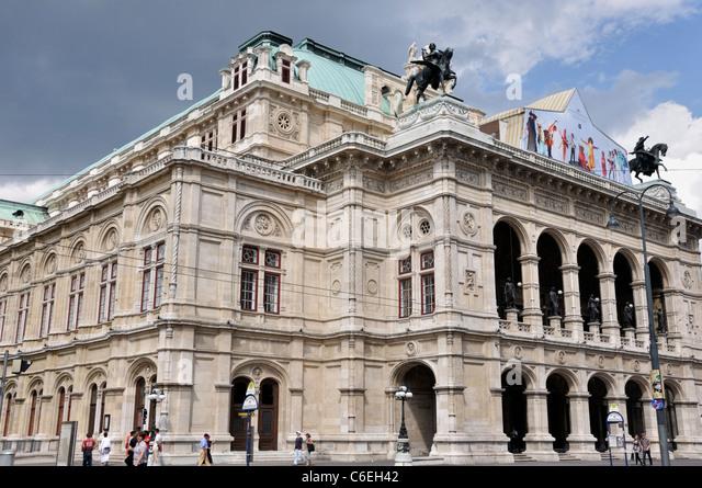 Vienna State Opera, Vienna, Austria, Europe - Stock-Bilder