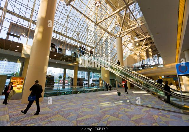 Interior, Metro Toronto Convention Center, Toronto, Ontario, Canada, North America - Stock Image