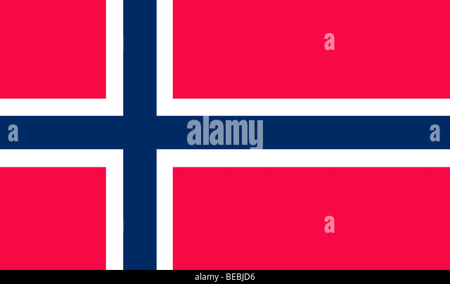 Flag of Norway illustration - Stock Image
