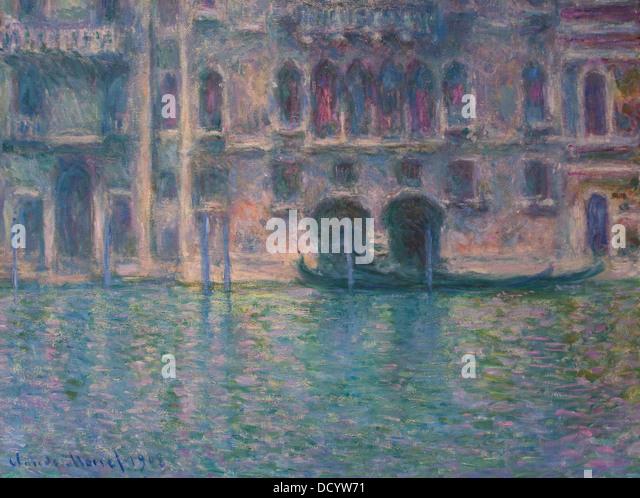 20th century  -  Claude Monet (1908)Philippe Sauvan-Magnet / Active Museum - Stock Image