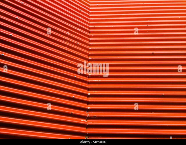 Red Corrugated Roof Stock Photos Amp Red Corrugated Roof