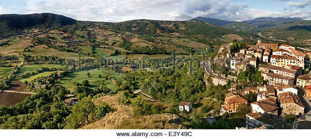 Pennabilli is a comune (municipality) in the Province of Rimini in the Italian region Emilia-Romagna, - Stock-Bilder