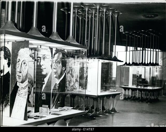 Apr. 18, 2012 - Expo'67 Belgium : Hall of fame of Belgium's great men. - Stock Image