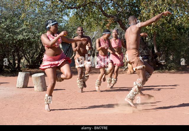 traditional Dancers - Stock-Bilder