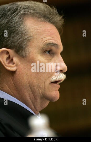 Sep 15, 2006 - San Diego, California, USA - Judge ROBERT O'NEILL sentenced Sean Barclay Goff, 38, of Kensington - Stock Image