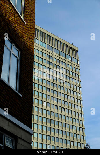 Contrasting Architecture - Stock Image