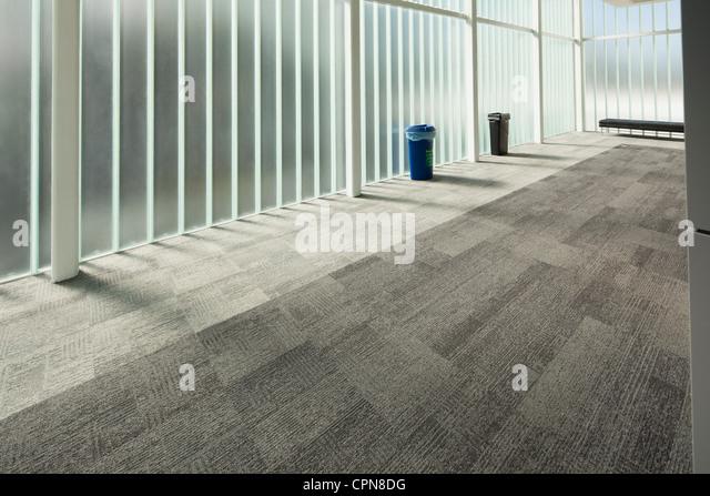 Empty modern lobby - Stock Image