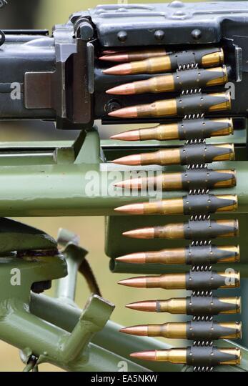 Machine Gun Bullets Stock Photos Amp Machine Gun Bullets