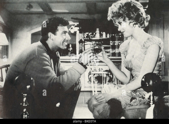 PERIOD OF ADJUSTMENT (1962) TONY FRANCIOSA, JANE FONDA POFA 002FOH - Stock Image