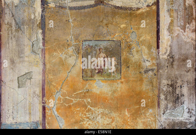 Roman mural stock photos roman mural stock images alamy for Ancient roman mural