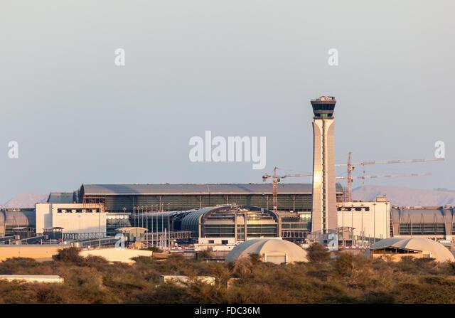 Oman International Airport in Muscat - Stock Image