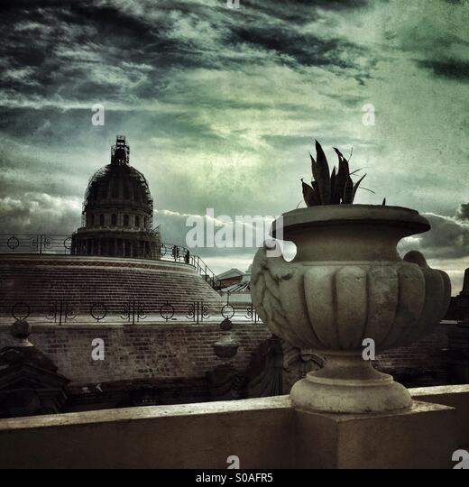 Capitol building Cuba - Stock Image
