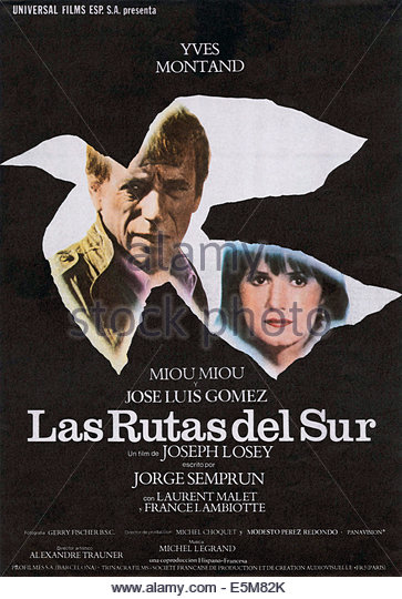 LES ROUTES DU SUD, (aka ROADS TO THE SOUTH), Yves Montand, Miou-Miou, 1978, (c) Concorde Films/courtesy Everett - Stock Image