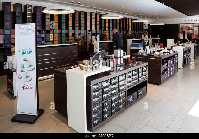 Nespresso shop in Regent Street, London - Stock Image