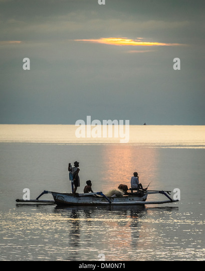 Fisherman, Bali, Lovina Bali Sea - Stock-Bilder