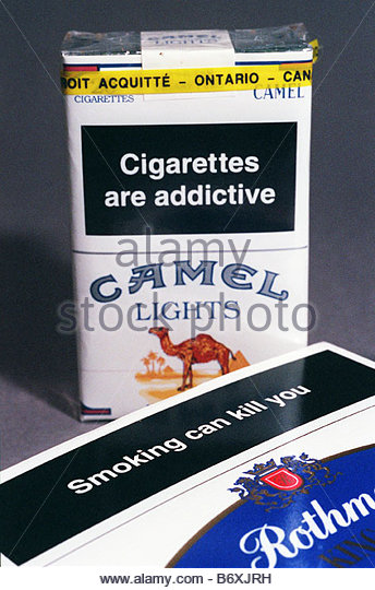 how to make a cigarette package