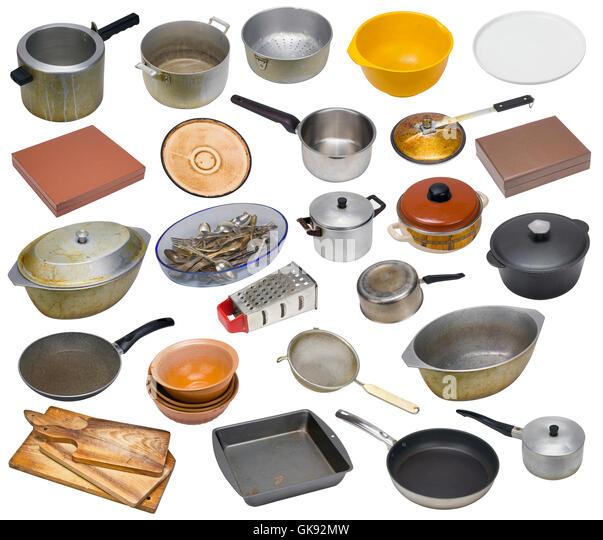 Vintage Kitchen Utensils Stock Photos & Vintage Kitchen