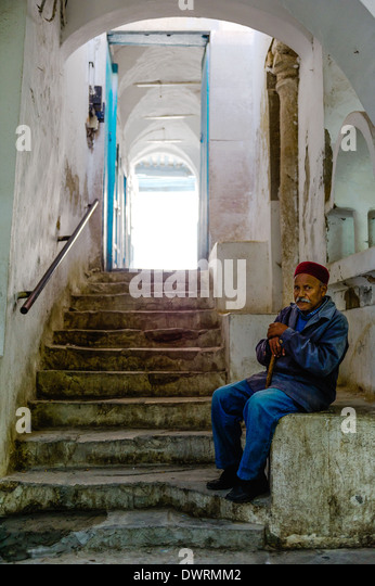 North Africa, Tunisia, Tunis. The souks. Old Tunisian. - Stock Image