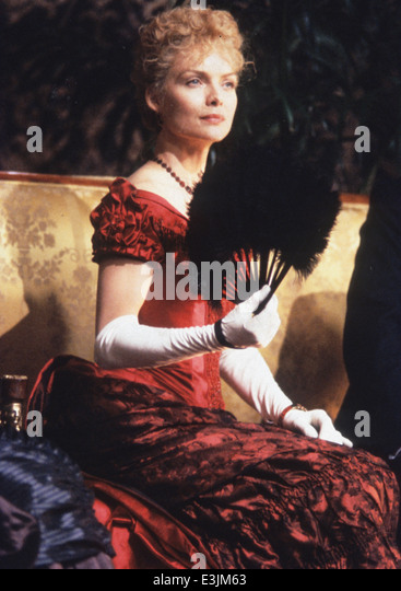 michelle pfeiffer, age of innocence, 1993 - Stock Image