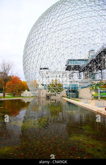 Montreal Biosphere - Stock Image
