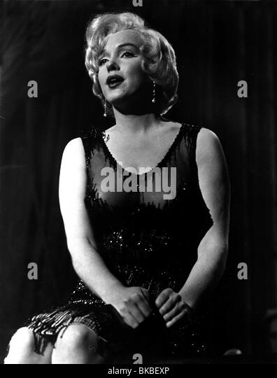 SOME LIKE IT HOT(1959) MARILYN MONROE SLH 028P - Stock Image