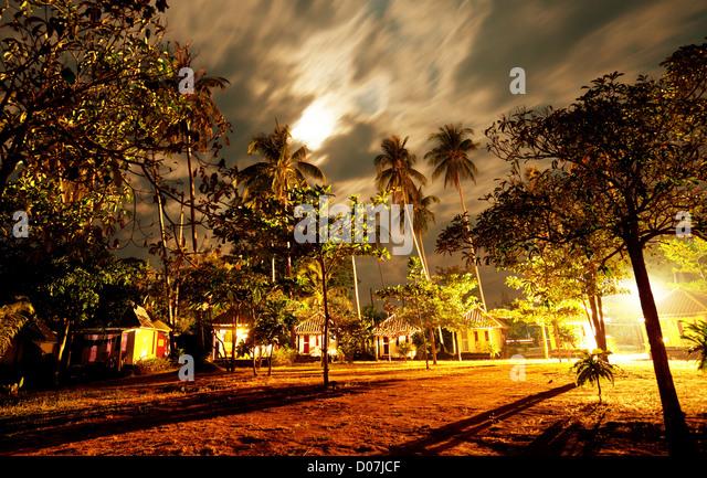 night scene - Stock Image