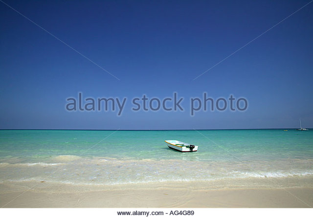 Two boats in the sea - Stock Image