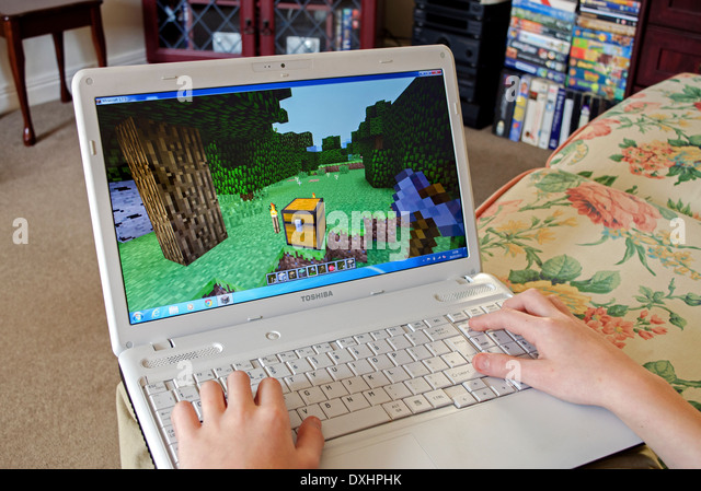 how to make a minecraft laptop
